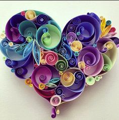 For those of you who do not know the term quilling, it is simply a type of ornamental craft performed by making pleats and folds with material. In this case we are talking about paper quilling! Fro...