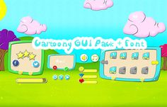 Cartoony GUI Pack has just been added to GameDev Market! Check it out: http://ift.tt/1RoSFqa #gamedev #indiedev