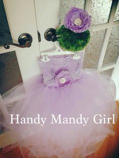 Periwinkle  Lace brooch flower girl tutu dress-lilac lavender ballerina birthday outfit on Etsy, $75.00
