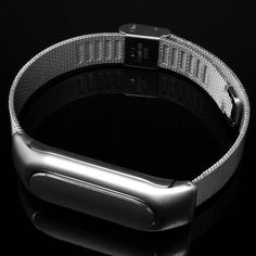 No Screw  Installation Milanese Style Steel Strap for Xiaomi Miband / 1S #women, #men, #hats, #watches, #belts, #fashion, #style