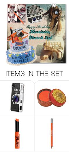 """""""Happy Birthday  to my  youngest Daughter,Henriette❤🎂🇳🇴🌹🤡 You are a Clever Photographer and a Cool Makeupartist 😀"""" by ragnh-mjos ❤ liked on Polyvore featuring art, cake, happybirthday, photographer, march and Makeupartist"""