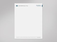 Create A Professional Letterhead Template For A Wealth Advisory
