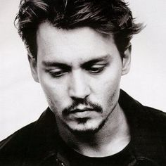 Johnny Depp. I remember crushing on him since Gilbert Grape.