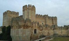 Castell de Coca, Segovia.