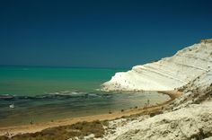 The Scala dei Turchi is a beautiful beach in #Sicily formed by a sedimentary…