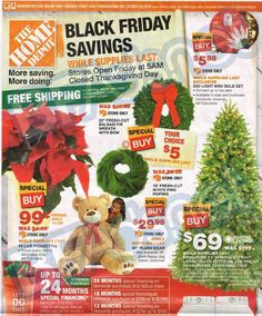 Planning to visit Home Depot on Black Friday? Check out the ad today!