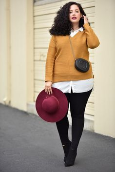 Fashion has moved so forward in the past few years that you don't need to look like model in order to fit those trendy, latest pieces in stores. #fashion #plussize