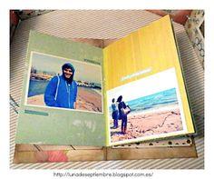 casita; álbum; scrapbook