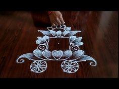 Kanuma special radham kolam only dot's Indian Rangoli Designs, Rangoli Designs Latest, Latest Rangoli, Simple Rangoli Designs Images, Rangoli Designs Flower, Rangoli Border Designs, Rangoli Designs With Dots, Rangoli With Dots, Beautiful Rangoli Designs