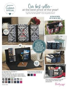 Thirty-One September Customer Special - Large Utility Tote and Stand Tall Insert Large Utility Tote, Large Tote, 31 Party, Thirty One Consultant, Independent Consultant, 31 Bags, Thirty One Gifts, Stand Tall, Getting Organized