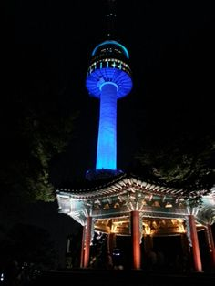 N서울타워 (N Seoul Tower) in Seoul