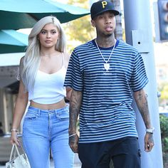 Kylie Jenner And The Old Ball And Chain Tyga Grab A Bite In Beverly Hills - http://oceanup.com/2016/11/09/kylie-jenner-and-the-old-ball-and-chain-tyga-grab-a-bite-in-beverly-hills/
