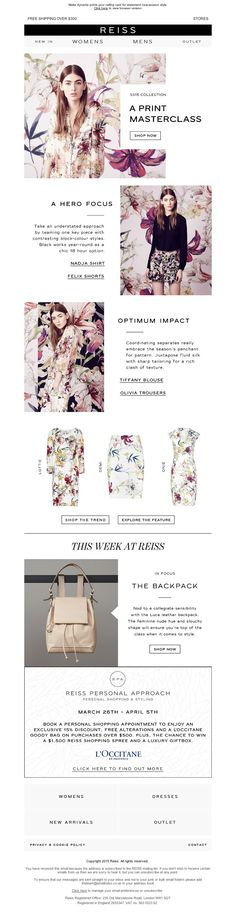 Reiss - Powerful Prints: The Season's Hero Looks