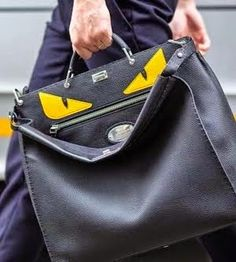 Fendi Bag Bugs 'Monster Eyes' Mens Peekaboo
