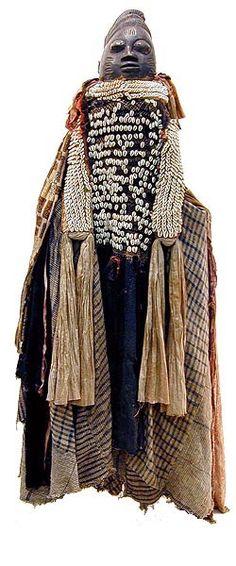 Nigeria | Egungun Costume. Yoruba | © Tim Hamill