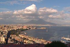 Bella Napoli e Vesuvio....