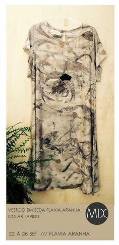 Nao tinha melhor maneira de celebrar a primavera. As peças da Flávia Aranha são uma verdadeira homenagem à natureza com seus pigmentos extraídos a partir de folhas e cascas de árvores. E hoje tem uma hora a mais de MIX, das 10hs às 19hs. Rua Joaquim Gomes Pinto // 9 // Cambuí // Campinas  #themixbazar 
