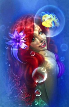 Ariel is my favorite princess ever!!!
