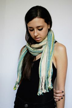 scarf by Janell Wysock Textile Designs
