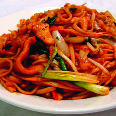 Schezwan Noodles - Non Veg  | The Chocolate Heaven | Pune