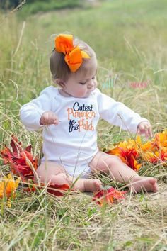 pumpkin patch ready boutique baby girl outfit AllThatSassBoutique