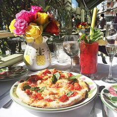 The 30 Most Instagrammed Restaurants In L.A. #refinery29  http://www.refinery29.com/most-instagrammed-restaurants-los-angeles#slide1  The Ivy Restaurant Sure, this classic L.A. spot is a little over the top, but its Cajun Bloody Mary might just change your life.The Ivy, 113 North Robertson Boulevard (near Alden Drive); 310-274-8303.: