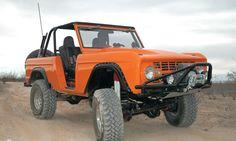 Orange color Ford_Bronco_Custom
