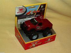 DODGE RAM TRUCK 4 X FOURS 4X4 NEW BRIGHT BATT OP NEW 305 2008 RED PICKUP GM #NewBright