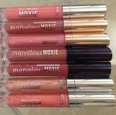 bareMinerals Marvelous Moxie Lip Gloss *you choose shade * Full Size! Brand New! #bareMinerals