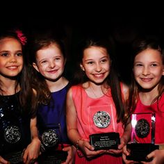 The four young actresses who play the title role in Matilda received honorary Tony Awards 2013