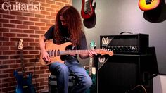 Guthrie Govan talks and plays through his 2013 pedalboard