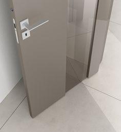 Interior Door Styles, Interior Doors, Stairs And Doors, Bedroom Closet Design, Wood Doors, Door Design, Modern Design, Bathroom, Tech
