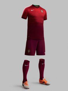 Portugal 2014-15 Nike Home