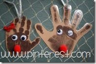 Another cute handprint ornament...super easy!