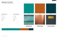 Image result for oxidised copper branding
