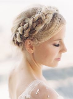 Milkmaid braid: http://www.stylemepretty.com/living/2016/04/05/second-day-hair/