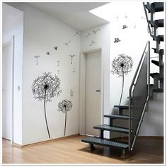 Huge Dandelion Clock Wall Decal from writing on the wall on Storenvy