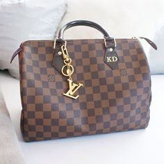 Ummm... why does this LV have my initials on it?? Lol I'M in lovee