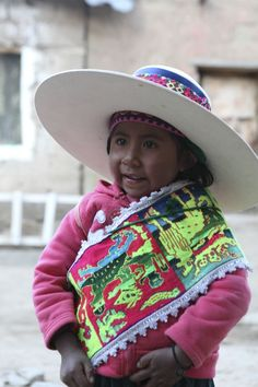 Four-year-old Fidelia in the traditional dress of her community in rural Ecuador. Her mother Severina features in our new photography book 'Vision of Hope: Mother and Child' http://trans.worldvision.com.au/visionofhope