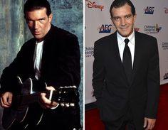 Men of the '90s -- Then & Now   Antonio Banderas