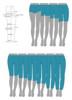 Couture Sewing, Styles, Knitting, Fabrics, Shorts, Crochet, Pants, Dressmaking, Vocabulary