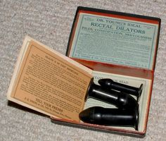 Dr Young's Rectal Dilators Vintage Medical Quackery