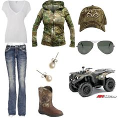Country girl style!!! I want the Hoodie and the quad the most....
