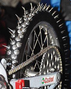 Ice speedway tyre