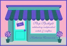 Independent Artists and Crafters Shop Spotlight   I'm starting a series of posts here at Katherines Corner called Shop Spotlight. I know it's hard to believe that its time to start thinking about holiday shopping. But, the holiday season is coming at us quickly. If you are like me you don't