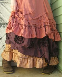 AMAZING maxi skirt, well it's actually to a dress but I feel the need to make this as a skirt!