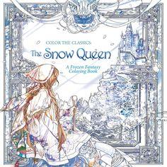 Color the Classics: The Snow Queen: A Frozen Fantasy Coloring Book by Jae-Eun Lee Fairy Coloring, Adult Coloring, Coloring Books, Coloring Pages, Colouring, The Beast, I Am A Queen, Snow Queen, Ice Queen