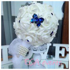 wedding bouquet , bridalbouquet , handmade, nunta , buchet de mireasa , broochbouquet bijoux weddings blue