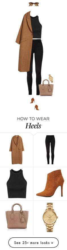 """""""Rocket !"""" by azzra on Polyvore featuring Charlotte Russe, Topshop, H&M, Michael Kors, Ray-Ban, Lacoste, women's clothing, women, female and woman"""