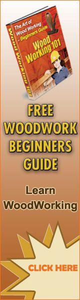 Free Woodworking Beginners ebooks